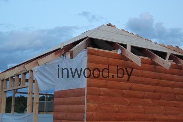 Строительство деревянной беседки фото