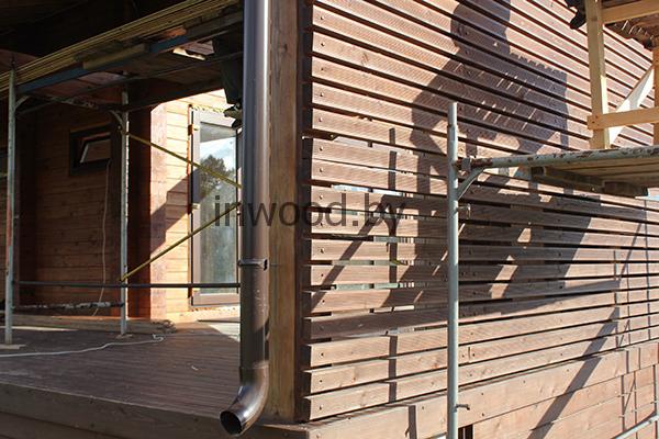 отделка помещения террасы фото