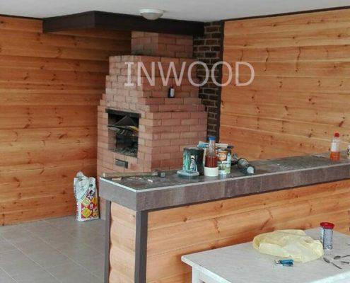 фото внутренней отделки летней кухни фото