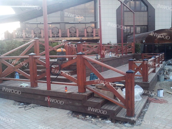 terrasa dlya restorana photo