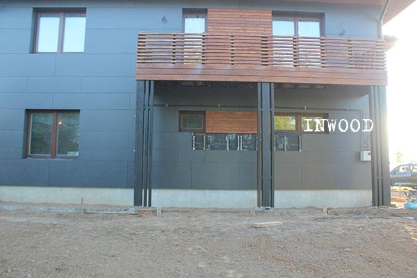 balkon i terrasa foto