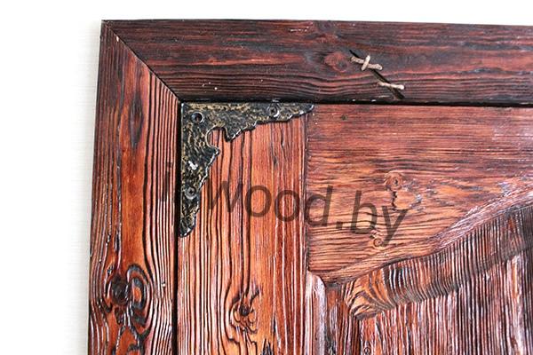 двери под старину брашированнаые фото