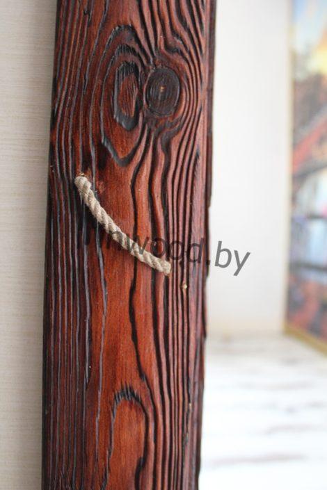 декор двери под старину