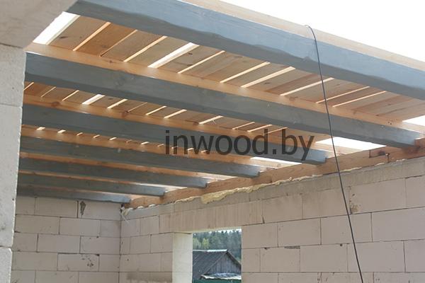 деревянные потолочные балки