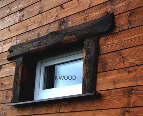 Обшивка деревянного дома (фото)