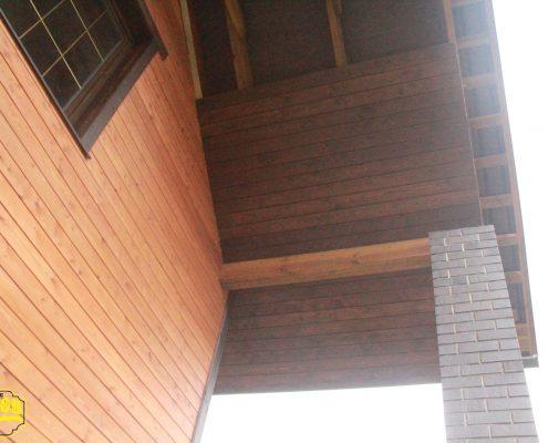 fasad ipodshivka krovli planken foto